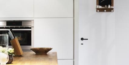 schilderen van keuken in wit